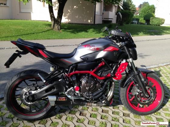 MT 07 Moto Cage 2015