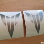 Silbrige MT Logos